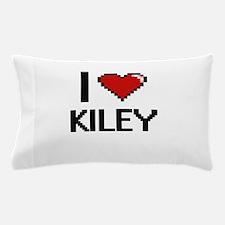 I Love Kiley Digital Retro Design Pillow Case