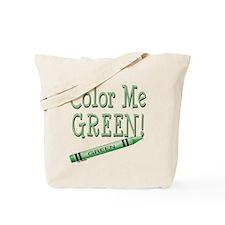 Color Me Green! Tote Bag