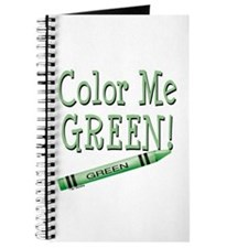Color Me Green! Journal