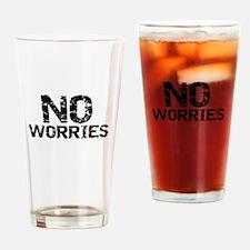 Cute Optimistic Drinking Glass