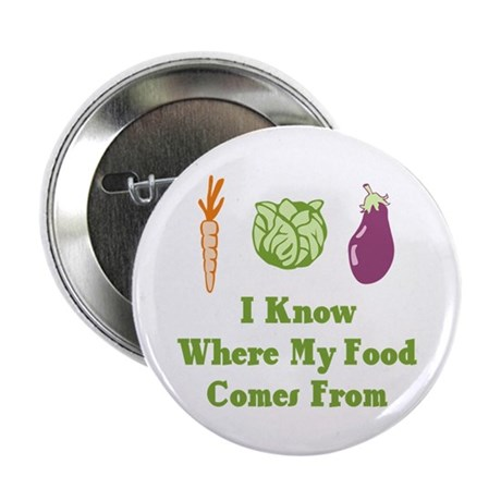"""My Food 2.25"""" Button (100 pack)"""