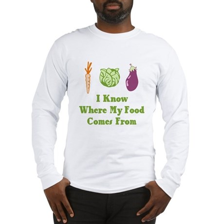 My Food Long Sleeve T-Shirt