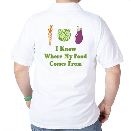 My Food Golf Shirt