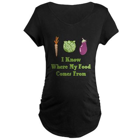 My Food Maternity Dark T-Shirt