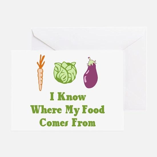 My Food Greeting Card