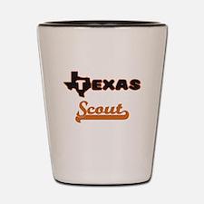Texas Scout Shot Glass
