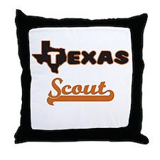 Texas Scout Throw Pillow