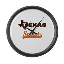 Texas Scout Large Wall Clock