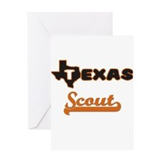 Texas Scout Greeting Cards