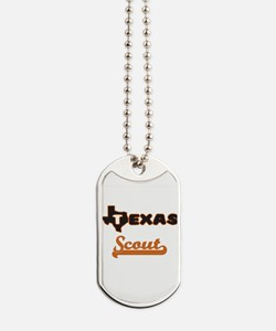 Texas Scout Dog Tags