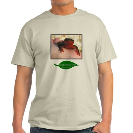 Rough Skinned Newt Salamander Light T-Shirt