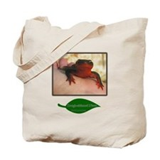 Rough Skinned Newt Salamander Tote Bag