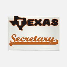 Texas Secretary Magnets