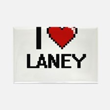 I Love Laney Digital Retro Design Magnets