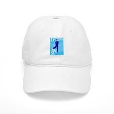 Yoga blu.jpg Baseball Cap