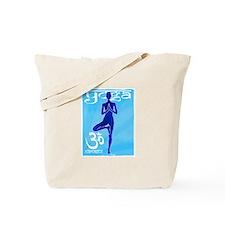 Yoga blu.jpg Tote Bag