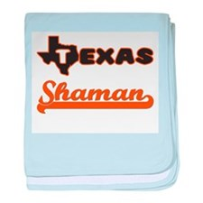 Texas Shaman baby blanket