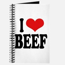 I Love Beef Journal