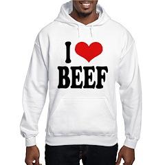 I Love Beef Hoodie