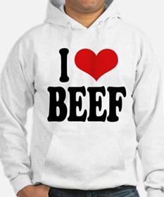I Love Beef Jumper Hoody