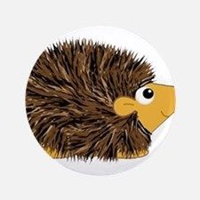 Prickley Hedgehog Button