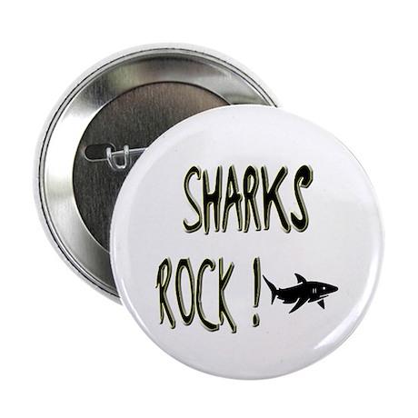 Sharks Rock ! Button