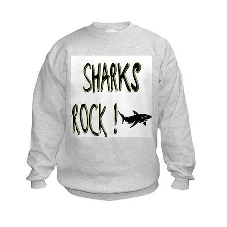 Sharks Rock ! Kids Sweatshirt