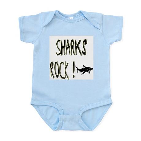 Sharks Rock ! Infant Bodysuit