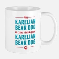 Karelian Bear Dog Mugs