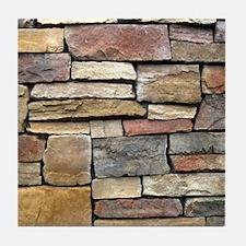 Brick Stone Wall Tile Coaster