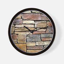 Brick Stone Wall Wall Clock