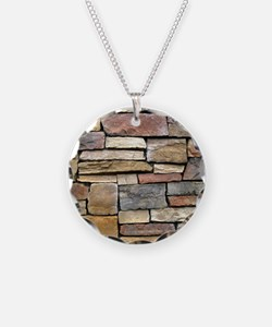 Brick Stone Wall Necklace