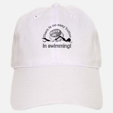 easy button - swimming Baseball Baseball Cap