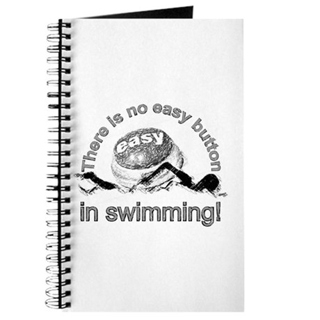 easy button - swimming Journal