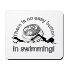 easy button - swimming Mousepad