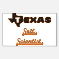 Texas Soil Scientist Decal