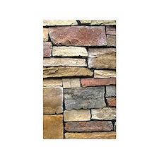 Brick Stone Wall Area Rug