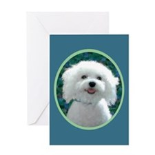 Bichon Frise Charmer Greeting Card