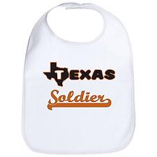Texas Soldier Bib