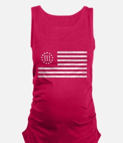 III Percenters Oath Keepers Maternity Tank Top