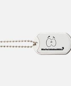 Cute What Dog Tags