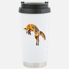 Leaping Fox Stainless Steel Travel Mug