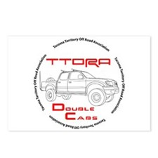 TTORA Double Cabs Postcards (Package of 8)