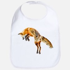 Leaping Fox Bib