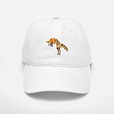 Leaping Fox Baseball Baseball Cap