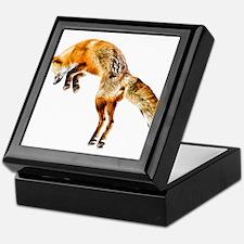 Leaping Fox Keepsake Box