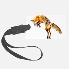 Leaping Fox Luggage Tag