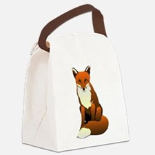 Foxy Lady Canvas Lunch Bag