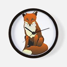 Foxy Lady Wall Clock