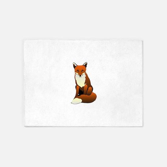 Foxy Lady 5'x7'Area Rug